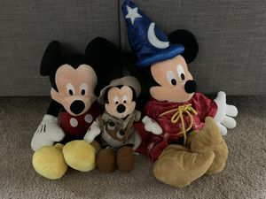 Mickey plushies for Sale in Annandale, VA