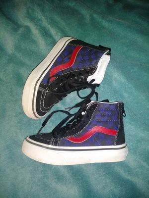 Vans suede leather hightops toddler sz 10.5 for Sale in Edcouch, TX