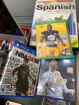 PS4 and Xbox 360 games for Sale in Houston, TX