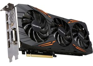 Used GIGABYTE GeForce GTX 1070 DirectX 12 GV-N1070G1 GAMING-8GD 8GB 256-Bit GDDR5 PCI Express 3.0 x16 ATX Video Card for Sale in Miami, FL