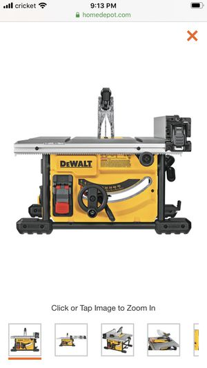 "Dewalt 10"" table saw for Sale in Atherton, CA"