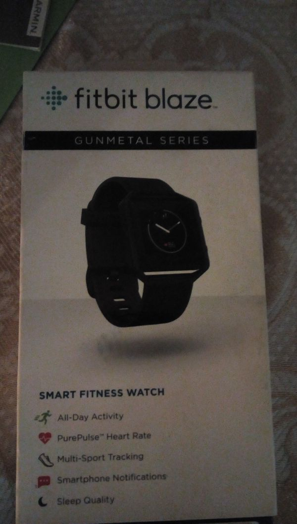 Fitbit blaze gunmetal series