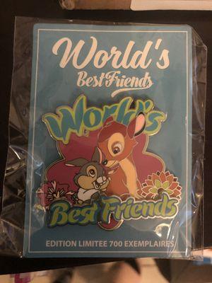 Disney Paris pin Bambi thumper for Sale in Miami, FL