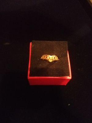 10k gold heart ring for Sale in Northumberland, PA