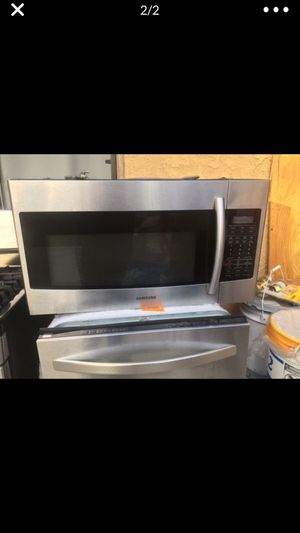 Set of microwave stove dishwasher fridge for Sale in Los Angeles, CA