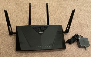 ASUS router. AC 3100 dual band gigabit router for Sale in Seal Beach, CA