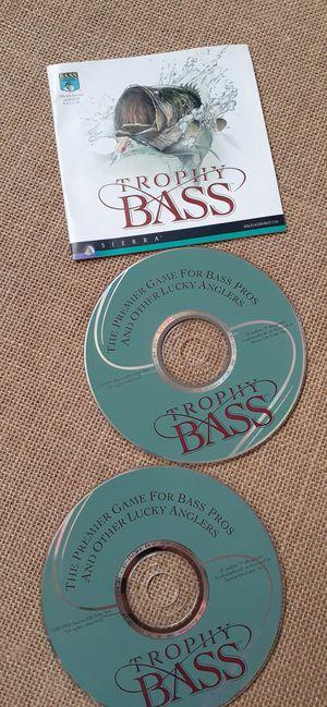 $3 Trophy Bass PC CD-Rom for Sale in Hemet, CA