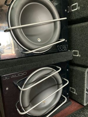 Jl audio 13w7ae pro wedge on sale today message us for the best deals in la today for Sale in Los Angeles, CA