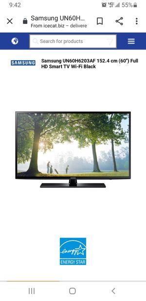Used samsung smart Tv model UN60H6203AF for Sale in Lewisville, TX