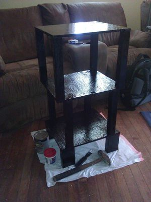 Custom built bathroom shelf for Sale in Jacksonville, FL