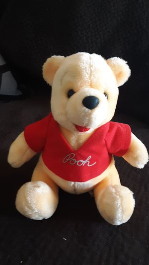 "Winnie the Pooh Sitting Plush 8"" ~ Disneyland ~ Walt Disney World for Sale in US"