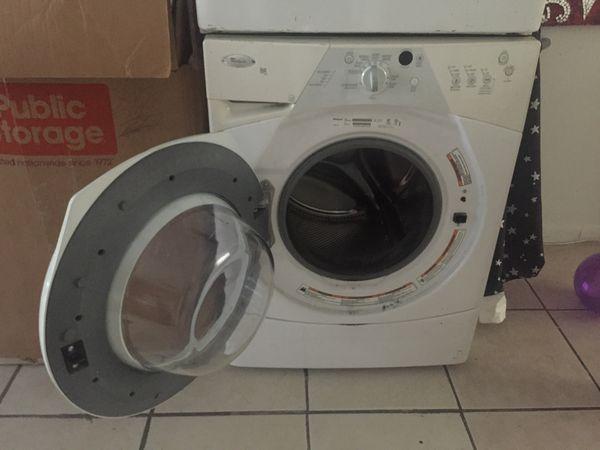 Wirlpool duet sport washer and dryer