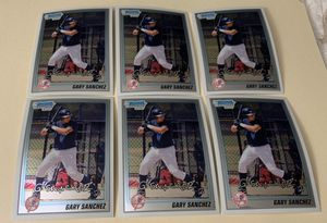 6 Gary Sanchez 2010 Rookie Prospects Bowman Chrome Baseball Card BCP207 New York Yankees for Sale in Placentia, CA