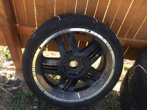 24inch wheels and tires for Sale in Denver, CO