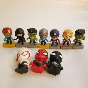Avenger Marvel Figures Mcdonalds Lot for Sale in Hillsboro, OR