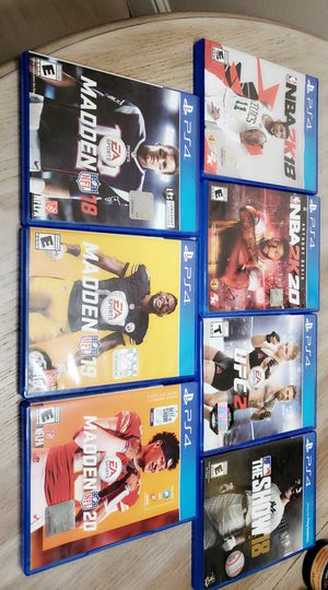 Ps4 games for Sale in Clovis, CA
