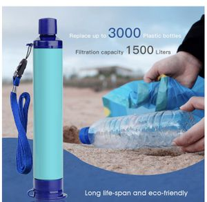 Filter pen Solutions Straw Water Filter,Survival Filtration Portable Gear,Emergency Preparedness,Supply for Drinking Hiking Camping Travel Hunting Fi for Sale in Rancho Cucamonga, CA