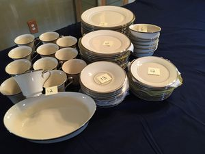 """LENOX """"SOLITAIRE"""" CHINA , like new !! for Sale in Stafford Township, NJ"""