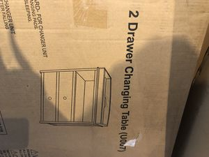 Baby changing table with drawers for Sale in Fairburn, GA