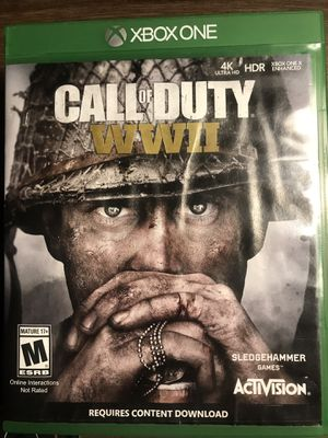 Call of duty WW2 Xbox one for Sale in Cleveland, OH