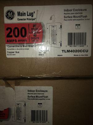200 amp flush mount 40 circuit panel for Sale in Deltona, FL