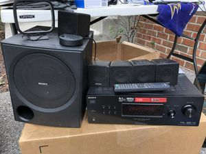 Sony STR-KG700 5.1ch 800w Stereo Receiver Home Theatre System + Remote Bundle for Sale in Millersville, MD
