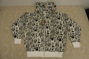 bape all over print hoodie bogo jacket XL for Sale in Buda, TX