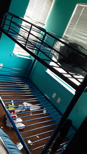 Twin bunk bed (blue) for Sale in Oakland, CA