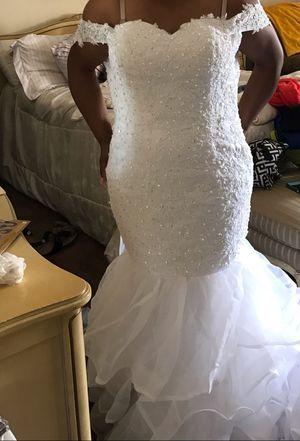 Mermaid wedding dress for Sale in Stone Mountain, GA
