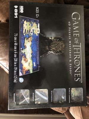 Game of Thrones 4D Puzzle for Sale in Dallas, TX