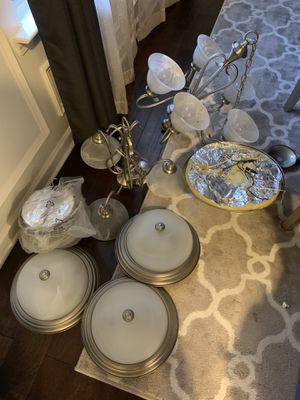 Chandeliers and flush lights for Sale in Powder Springs, GA
