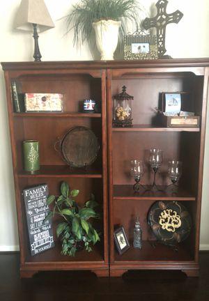 Two bookshelves - only bookshelves for sale for Sale in Atascocita, TX