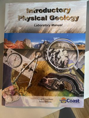 Introductory physical geology lab book and complete kit for Sale in Vista, CA