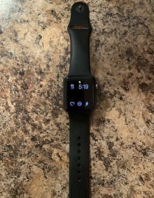 Apple Watch Series 3 38mm Space Gray Case Black Sport Band GPS + Cellular for Sale in Silver Spring, MD