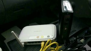 Cable modem and router for Sale in Amanda, OH