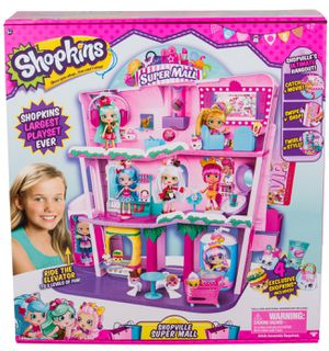 if AD is Up, its Available. BRAND NEW FACTORY SEALED Shopkins Shoppies Shopville Super Mall IN BOX for Sale in Cooper City, FL