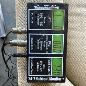 Nutrient Monitor for Sale in Lakewood, CA