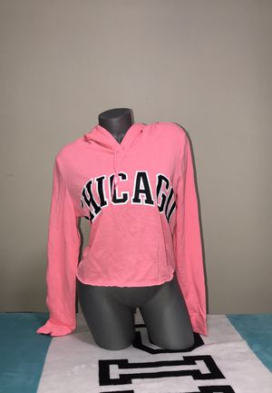 VS Pink Hoodie Cropped Perfect Pullover Medium or Large for Sale in OH, US