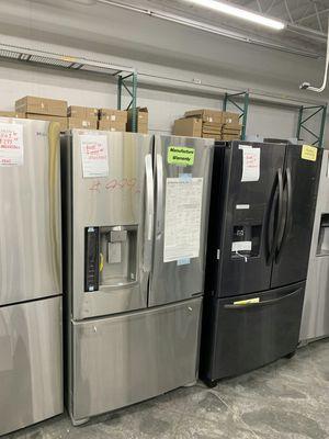 LG French Door Bottom Freezer Refrigerator WARRANTY for Sale in Ontario, CA