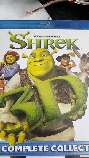 Shrek THE COMPLETE COLLECTION for Sale in Norco, CA