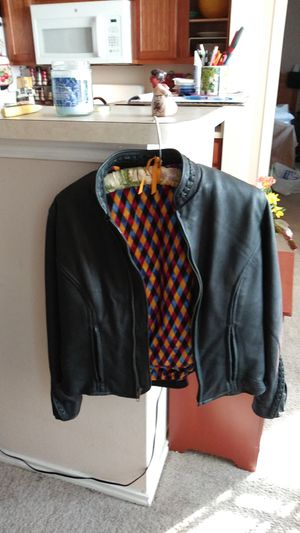 Custom made womens motorcycle jacket for Sale in Garland, TX