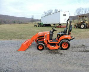 2012 Kubota BX1860 Sub Compact Tractor Loader Belly Mower 4X4 3 Point Hitch PTO! for Sale in Daly City, CA