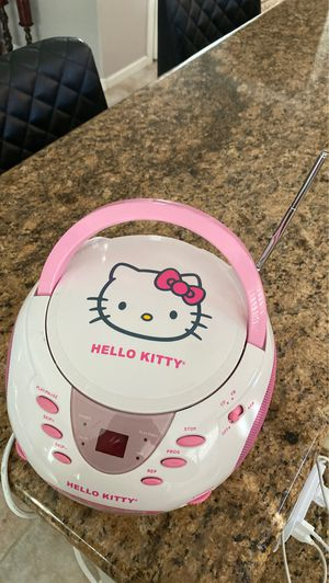 Hello Kitty AM/FM Radio with CD player for Sale in Gilbert, AZ