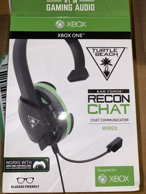 Turtle Beach Recon Chat Gaming Headset For Xbox One for Sale in Neffsville, PA