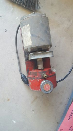 MARVAC VACUUM PUMP DIRECT DRIVE ACT-71 EMERSON 1/3 HP MOTOR 115V SA55KFL-5517 for Sale in Phoenix, AZ