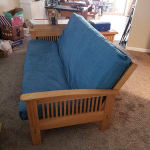 Futon Sofa, Futon Chairs, Ottoman/Table for Sale in Placentia, CA