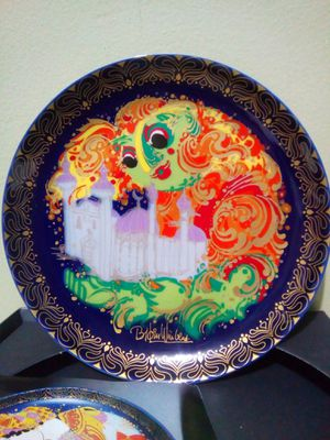"Vintage Rosenthal Wall Plate Studio Linie ""Sinbad The Sailor"" Bjorn Winblad Germany for Sale in Lorton, VA"