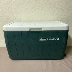Forest Green Coleman Polylie Cooler for Sale in Fullerton, CA