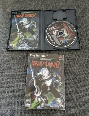 Legacy of Kain Series Blood Omen 2 Sony PlayStation 2 PS2 CIB GREAT CONDITION for Sale in Warwick, RI