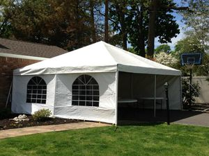 20x20 NEW party tent with a wall for Sale in Takoma Park, MD